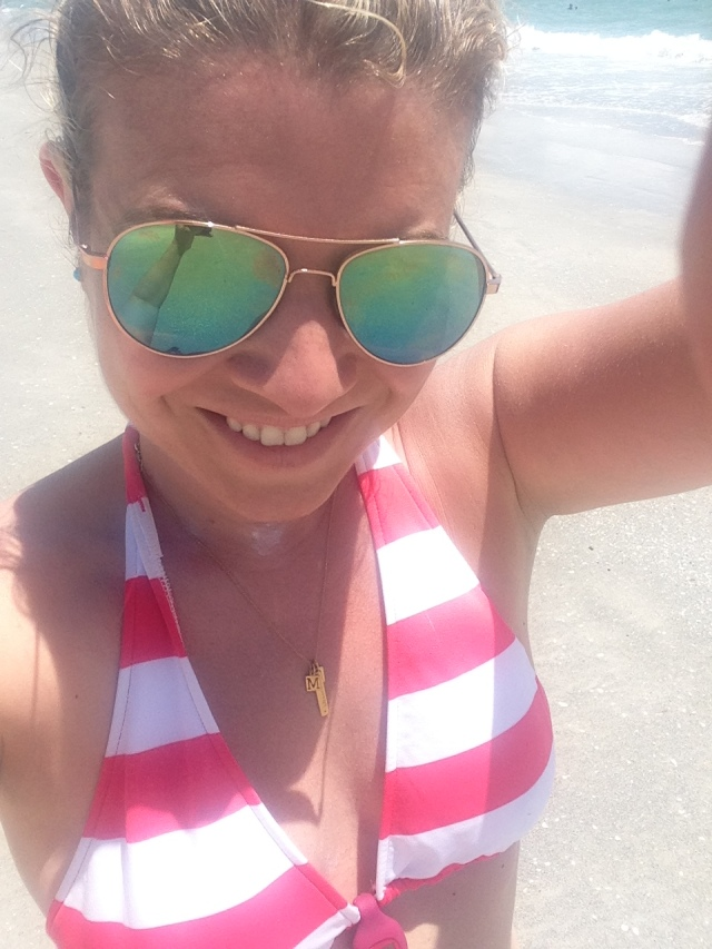 Beach selfie.  Do I need a reason? :)