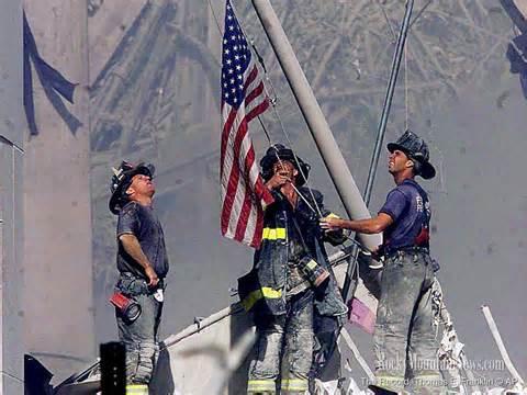 9-11 Image flag