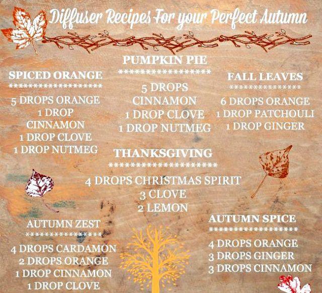 fall scent guideRE