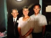 My grandpa, my mom and my Uncle Randy at Brock and I's wedding