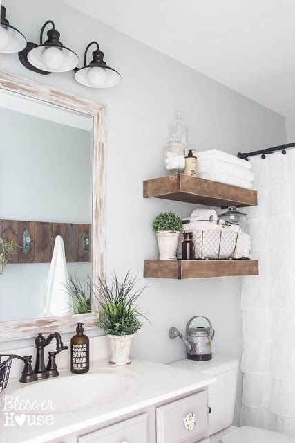 bathroom concept shelves