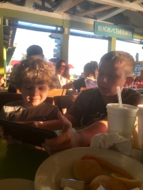 Dinner at the Fishy Fishy Cafe