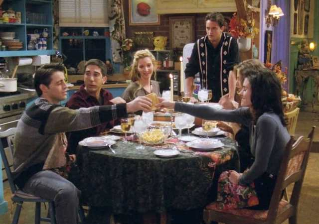 friends tgiving